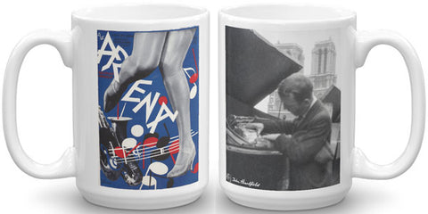 Heartfield Art Mug<br />Arena Jazz<br />Heartfield In Paris