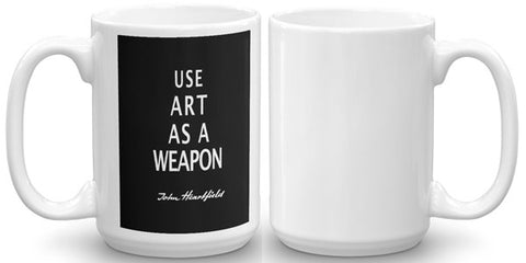 Heartfield Art Mug<br />Art As A Weapon<br />Political Art Mug