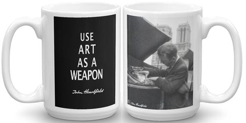 Heartfield Art Mug<br />Art As A Weapon<br />Heartfield In Paris