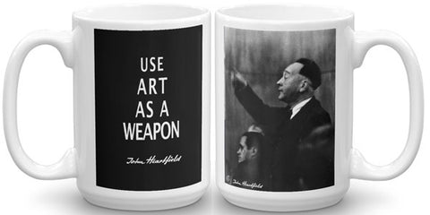 Heartfield Art Mug<br />Art As A Weapon<br />Weimar Republic Politics