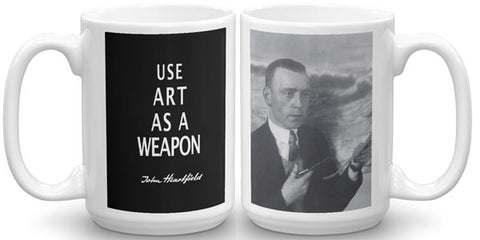 Heartfield Art Mug<br />Art As A Weapon<br />Heartfield Photo