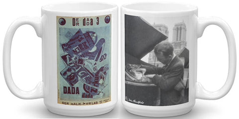 Heartfield Art Mug<br />Der Dada 3<br />Heartfield In Paris