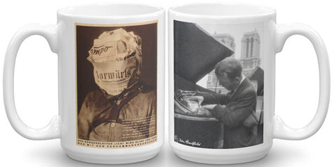 Heartfield Art Mug<br />Fake News Mug<br />Heartfield In Paris