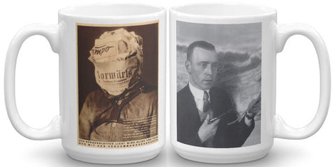 Heartfield Art Mug<br />Fake News Mug<br />Heartfield Photo