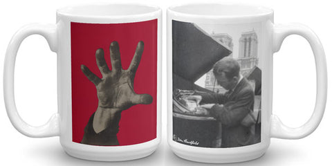 Heartfield Art Mug<br />Five Fingers<br />Heartfield In Paris