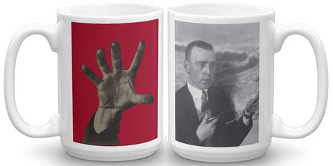 Heartfield Art Mug<br />Five Fingers<br />Heartfield Photo
