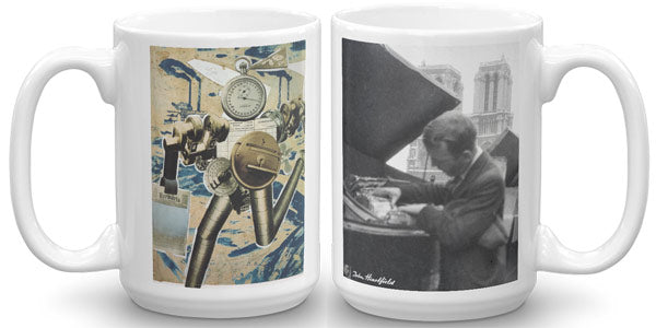 Heartfield In Paris Mug - famous political art mug