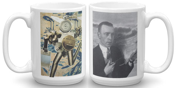 John Heartfield Mug. Rationalization Is On The March! Die Rationalisierung marschiert!