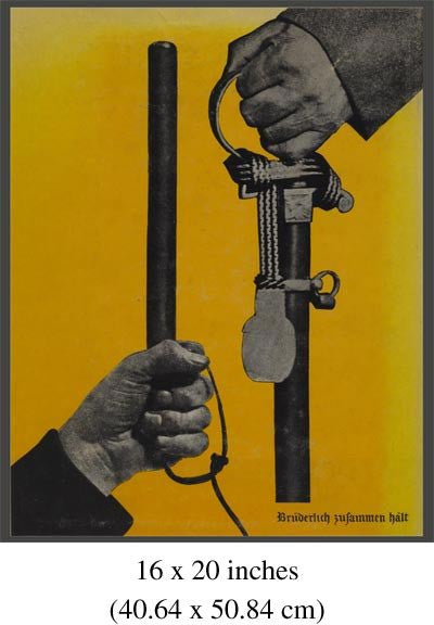 Famous German Graphic Design for Kurt Tucholsky. Dada political artist John Heartfield