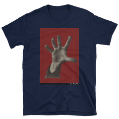 "famous political art t-shirt ""5 Fingers"" by Dada political artist. History's most famous political symbol."