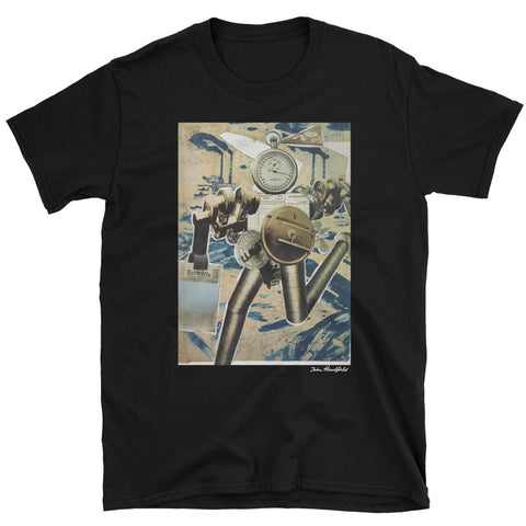 Robots T-Shirt<br /><em>Rationalization On The March!</em><br />Machines Replace Workers<br />John Heartfield Art : Unisex