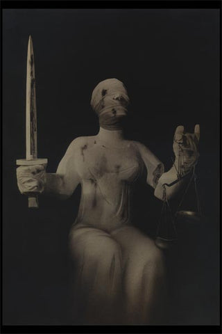 Political Posters<br /><em>The Executioner and Justice<br>(Der Henker und die Gerechtigkeit)</em><br />John Heartfield Political Art<br />24 x 36 in (60.96 x 91.44 cm)