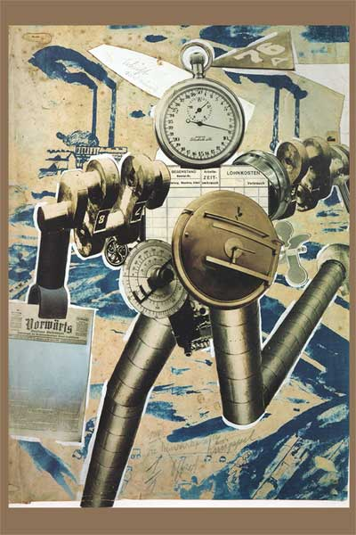 famous political poster Rationalization March John Heartfield