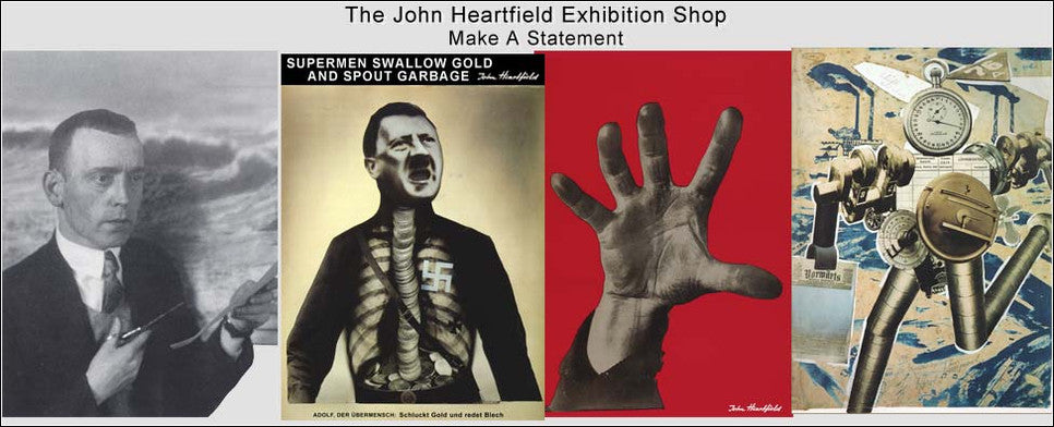 Heartfield Photomontage Political Art Posters For Sale