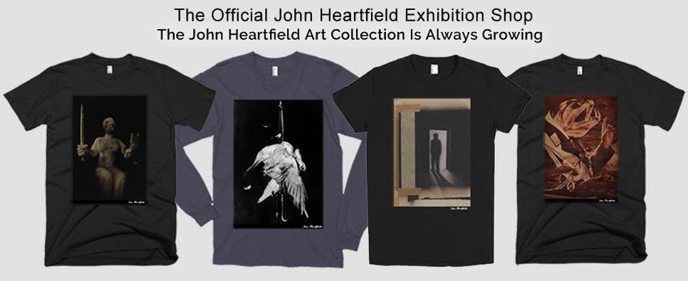 Heartfield Photomontage Political Art T-Shirts