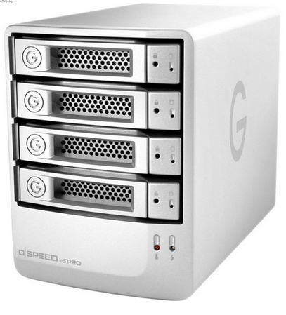 G-Technology 24TB G-SPEED eS PRO 4-Bay RAID Array w/ 4x 6TB Enterprise Drives, Empress # GT GSPEED24ESPRO, Mfr #0G04015