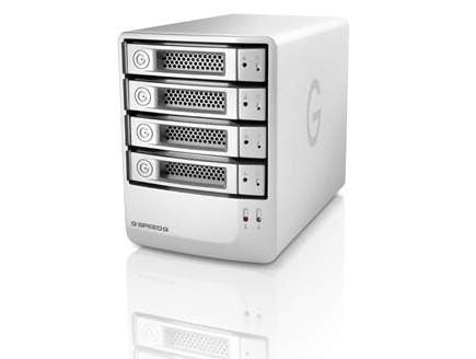 G-Technology G-SPEED Q 32000GB-32TB (4x8TB) Quad Interface USB 3.0 External RAID(0) RAID(5) TOWER, Empress # GT GSPEED32, Mfr. #0G03974 (Item Discontinued, Limited Stock)