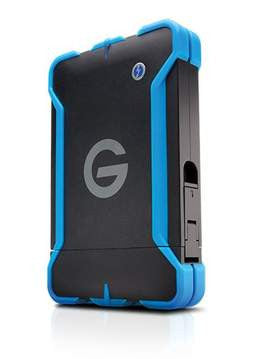 G-Technology-G-DRIVE ev ATC with Thunderbolt Rugged Bumper 7200 rpm  1000 GB  1TB #0G03586