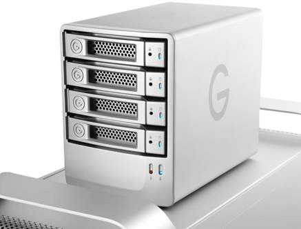 G-SPEED eS 4000GB-4TB (4x1TB) External RAID(0) RAID(5) TOWER, Empress #GT GSPEED4,  Mfr. #0G01867 (Item Discontinued, Limited Stock)