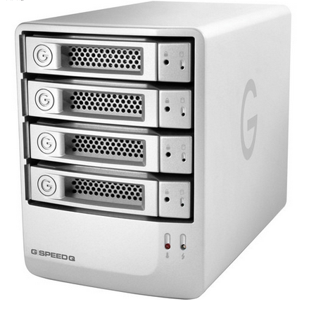 G-Technology 12TB G-Speed Q 4-Bay Storage Array - Empress #GT GSPEED12, Mfr. #0G02838 (Discontinued)