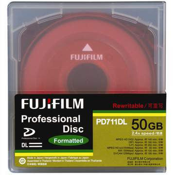 Fuji XDCAM 50GB, Dual Layered Disc - PD711DL-50GB