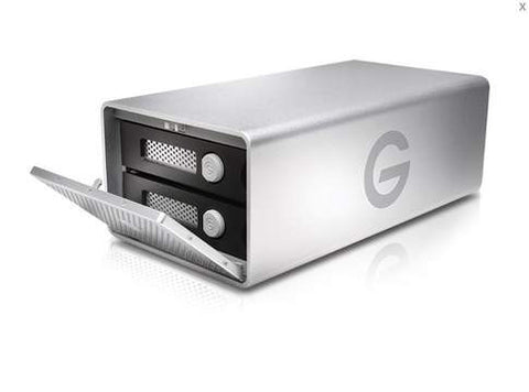 G-Technology-G-RAID G1 Removable Drives Hardware RAID  7200 rpm  USB 3.0 12000 GB 12 TB Empress # 0G04077, Mfr. #0G04077