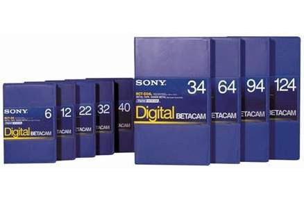 Sony Digital Betacam - Various Lengths
