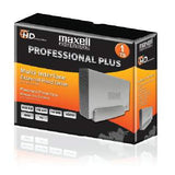 Maxell Multi Interface External Hard Drive - 1 TB - USB 3.0 eSATA FW 400-800 -- 665384
