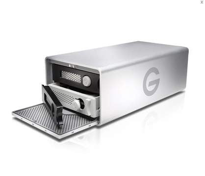 G-Technology-G-RAID Removable Drives Hardware RAID Enterprise Class Dual Thunderbolt 2 and USB 3.0 ports 16000 GB 16 TB, Empress #GT GRT2R-16000, Mfr. #0G04097