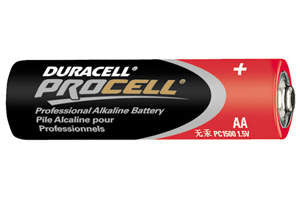 Duracell Procell AA Alkaline Battery-PC1500