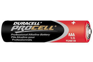 Duracell Procell AAA Alkaline Battery-PC2400