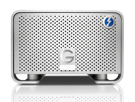 G-RAID 8TB with Thunderbolt Hard Drive External 7200 RPM Drive,  Mfr. #0G02272 (Item Discontinued, Limited Stock)