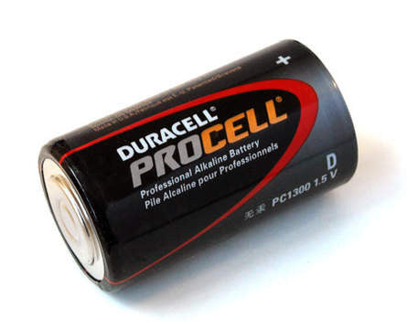 Duracell Process D Alkaline Battery-PC1300