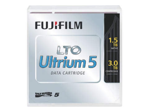 Fujifilm LTO 5 Tapes / LTO Ultrium 5 Tape Data Cartridge Capacity: 1.5TB (3.0TB Compressed) MFR # - 16008030