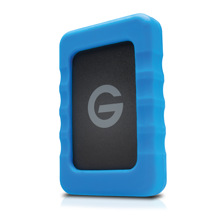 G-Technology, G-Drive ev RaW, 2TB, USB 3.0 Hard Drive with Rugged Bumper, #0G05190