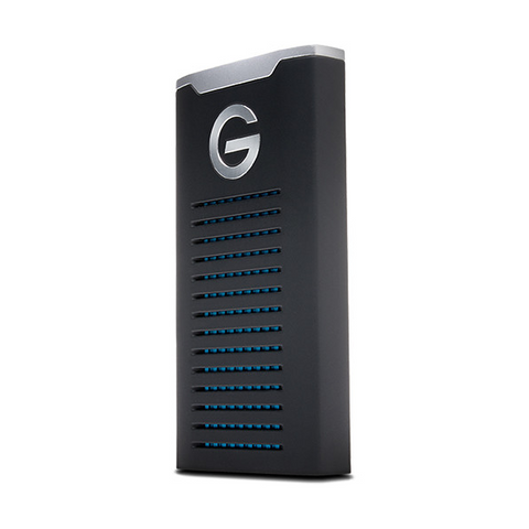 G-Technology 500GB G-DRIVE R-Series USB 3.1 Type-C mobile SSD  - #0G06052