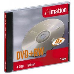 IMATION DVD-RW 4.7GB IN JEWEL CASE, 5-PACK 05745
