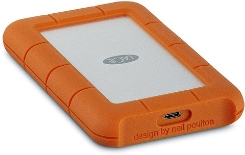 LaCie 1TB Rugged USB 3.0 Type-C External Hard Drive  #STFR1000800