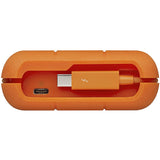 LaCie 4TB Rugged Thunderbolt / USB-C Mobile HDD Mfg.# STFS4000800
