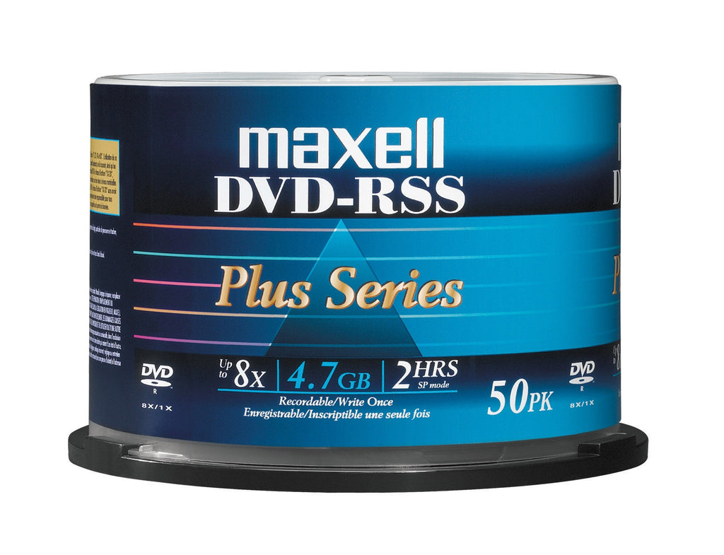 MAXELL DVD-R GP 8X WHITE INKJET HUB PRINTABLE SP50, 635061