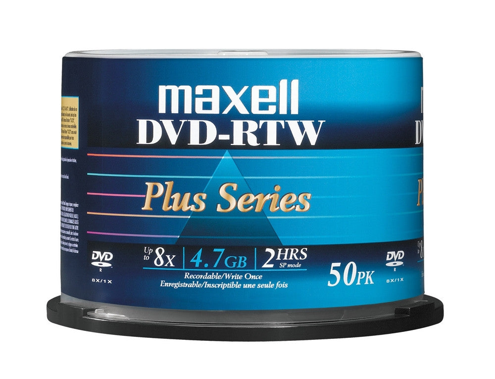 MAXELL DVD-R WHITE THERMAL 8X, SPINDLE 50, NON-HUB, 635063