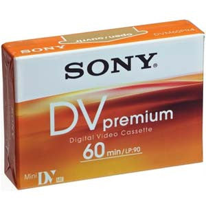 Sony Mini DV 60PR4 - DVM60PR4 (Discontinued), Now DVM60PRR
