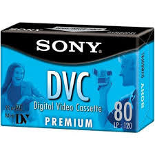 SONY MINIDV 80MIN PRO BLUE PACKAGING -  DVM-80PRL (Discontinued)