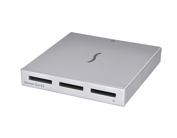 Sonnet Qio E3 High-Speed SxS Card Reader
