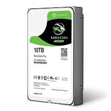 "Seagate BarraCuda Pro 10TB, SATA III, 3.5"" HDD Internal Drive - ST1000DM004"