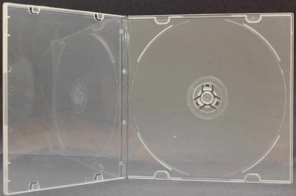 Slim Clear CD Poly Case