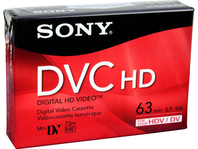 SONY MINI DV 63HD -  DVM63HD