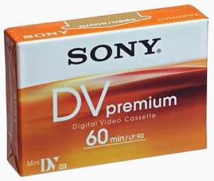 Sony Mini DV 60 PR3 - DVM60PR3 (Discontinued)