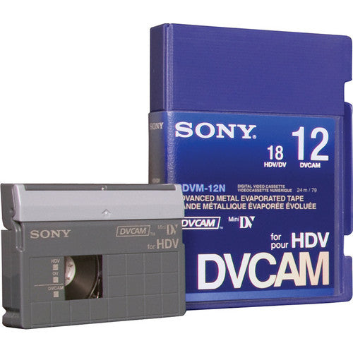 SONY DVCAM 12 MIN NO CHIP - PDV-12N