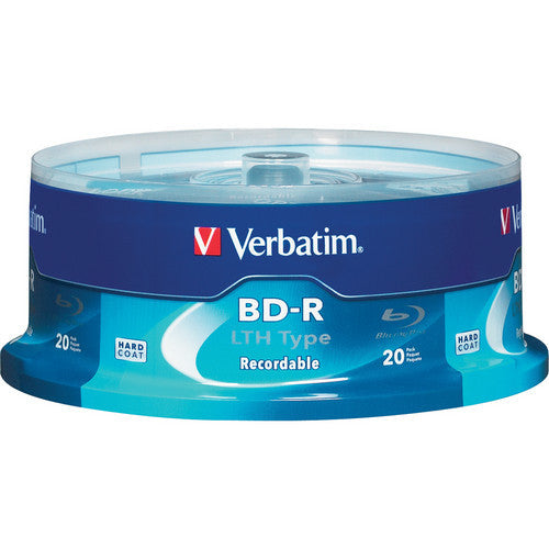 VERBATIM BLU-RAY 25GB 2X BRANDED 20 PACK, 97090